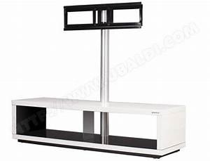 Meuble Tele Haut : meuble tv etroit et haut ~ Teatrodelosmanantiales.com Idées de Décoration