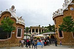 Park Guell in Barcelona Spain - Blushing in Hollywood