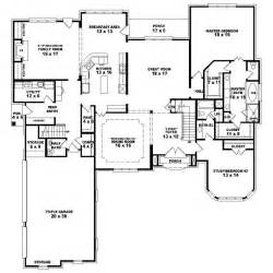 bedroom house blueprints 4 bedroom one story house plans marceladick