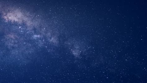Night Sky Stars Milky Way Mountains Background Stock