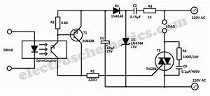 universal optocoupler triac controller circuit With acdimmercircuitmicrocontrollercontrolleddimmerpartsjpg