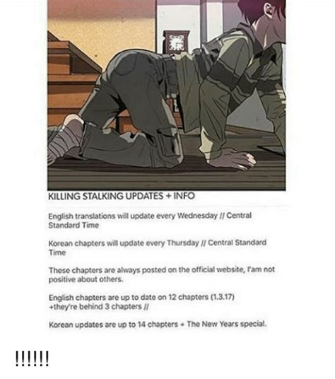 Killing Stalking Memes - killing stalking updates info english translations will update every wednesday llcentral