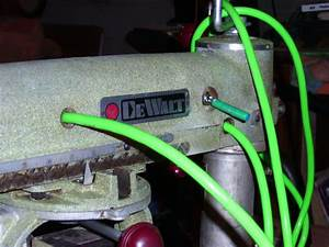 Restoring A 1957 A Dewalt Radial Arm Saw  3  Finishing Up The Wiring  The Mean Green Machine