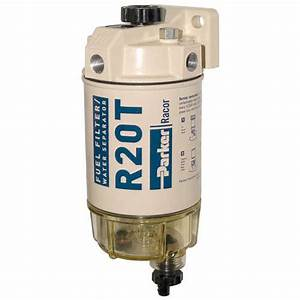 Racor 200 Series 30 Gph Low Flow Diesel Fuel Filter  Water Separator 230 Filter Assembly