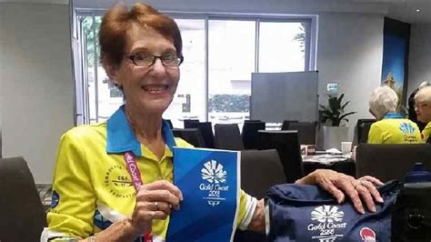 commonwealth games volunteer named whitsunday times
