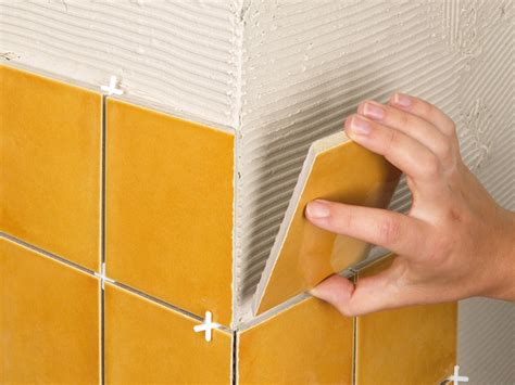 cutting tile inside corners how to cut and install tile around obstacles how tos diy
