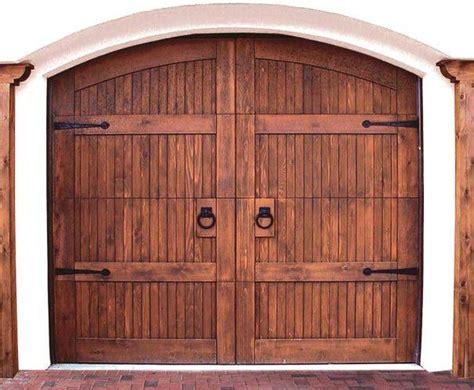 Wood Garage Door by Wooden Garage Door 5 Tips For Maintaining Garden