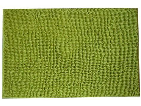 tapis de bain 50x80 cm coloris vert conforama