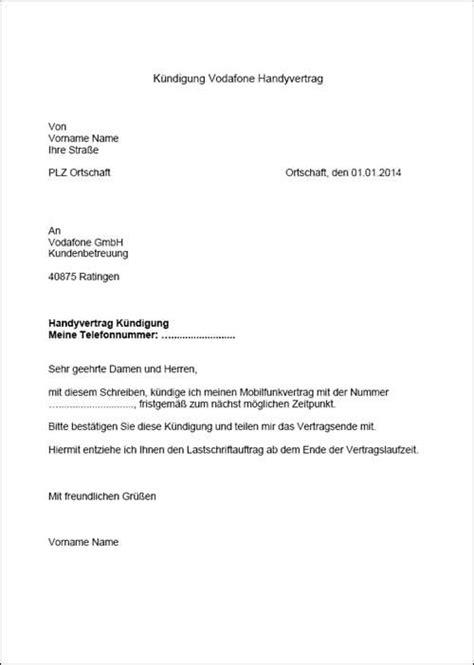 kündigung eines mietvertrages vorlage vorlagen k 252 ndigung k 252 ndigung vorlage fwptc
