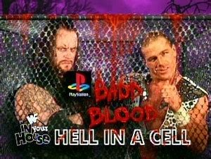wwf   house badd blood  images hell   cell