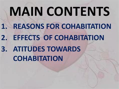 Essay On Cohabitation Before Marriage by Cohabitation