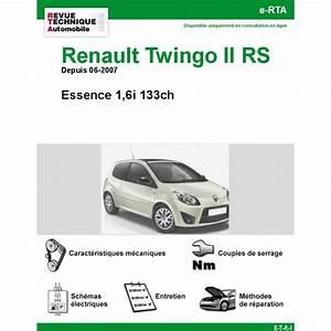 Revue Technique Twingo 1 Pdf Gratuit : revue technique renault twingo ii rs rta site officiel etai ~ Medecine-chirurgie-esthetiques.com Avis de Voitures