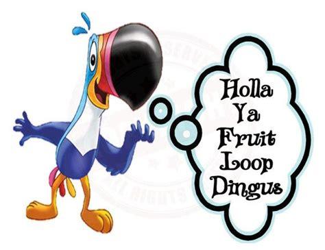 Fruit Loops Meme - holla ya fruit loop dingus zach derrick big brother t shirt custom design
