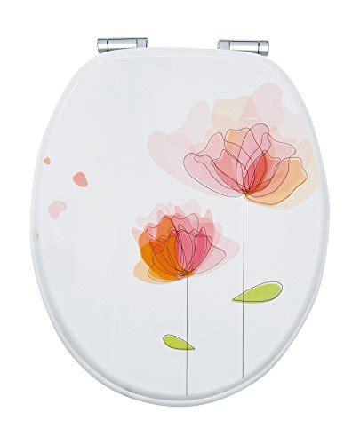 absenkautomatik für toilettendeckel wc sitz dekor flora rot toilettensitz mit blume wc brille aus holz soft