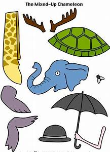 The Mixed Up Chameleon printables   Books & Crafts ...
