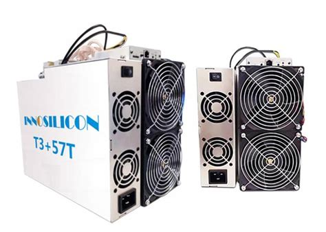 To efficiently and effectively mine crypto currencies such as bitcoin. Innosilicon T3+ Bitcoin Mining Device 57T 3300W Small Compact BTC Equipment