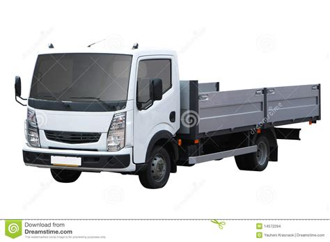 white small truck stock photo image  wheel iveco