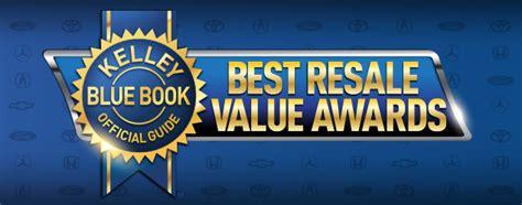 2017 Best Resale Value Awards  Kelley Blue Book