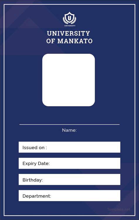blank id card id card template label template word