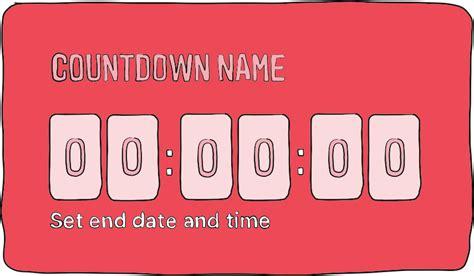 countdown timer instagram stories
