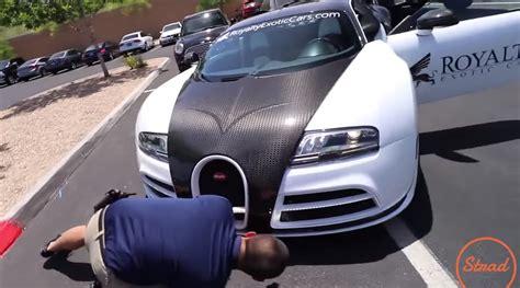 carmax appraises bugatti veyron mansory  hilarious price