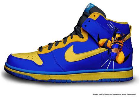 design nike shoes wolverine nike shoe design by noisycreations on deviantart
