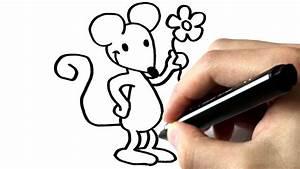 Comment Attraper Une Souris : comment dessiner une souris tutoriel youtube ~ Dailycaller-alerts.com Idées de Décoration