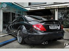 Widebody Mercedes CL from Bangkok autoevolution