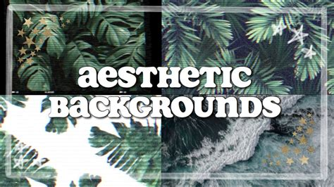aesthetic animated backgrounds  youtube intros