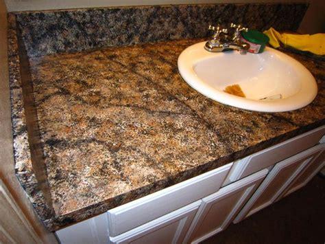 diy faux granite countertop   kit