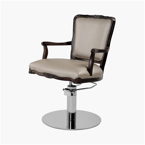 prince styling chair in premium fabric direct salon furniture