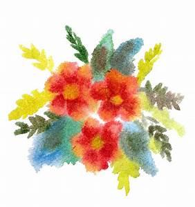 Blumen Bilder Gemalt : roter blumenstrau der blumen gemalt im aquarell stock abbildung illustration von kunst nave ~ Orissabook.com Haus und Dekorationen