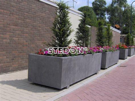 bloembakken plantenbakken stedon stedelijke producten