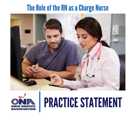 The Role Of The Registered Nurse As Charge Nurse  Ohio Nurses Association