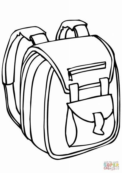 Bag Coloring Bags Pages