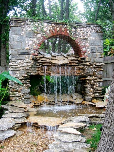 black glass backsplash 49 amazing outdoor water walls for your backyard digsdigs