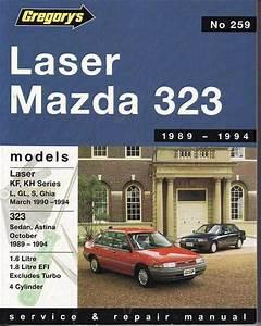 Ford Laser  U0026 Mazda 323 1989