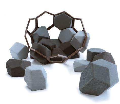 Hexagonal Sofa by Ctrlzak Quartz