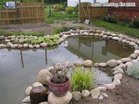creer un bassin exterieur bassin d eau guide d am 233 nagement d un bassin de jardin