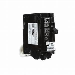 Siemens Qf115a Ground Fault Circuit Interrupter  15 Amp  1