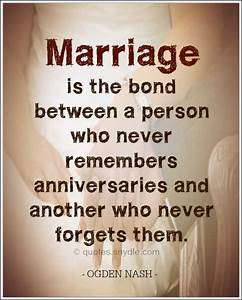 Funny Marriage ... Funny Anti Marriage Quotes