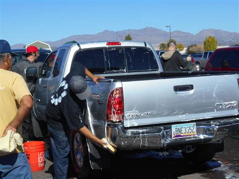 Home Depot Safford Az by Valley Veterans Treated To Free Car Wash Barbecue Local