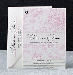 modern booklet patterned wedding invitations With wedding invitation photo booklet