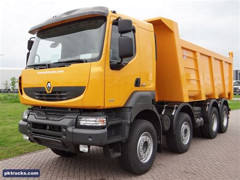 renault kerax tipper trucks mixer trucks concrete pumps trailers