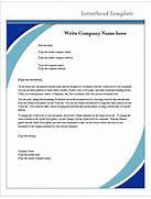Letterhead Template Microsoft Word Templates Six Free Letterhead Templates For Microsoft Word Business Create Letter Template Word 2010 Download Free Apps Free Letterhead Templates For Word Search Results