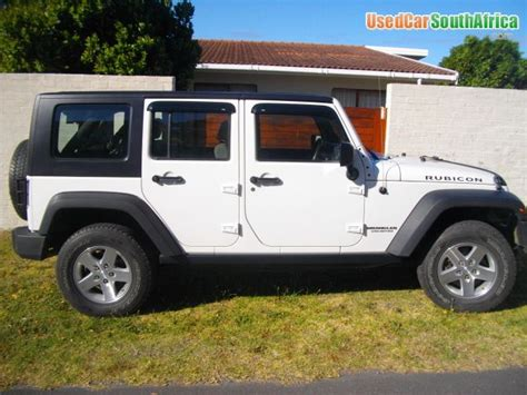 jeep wrangler  rubicon unlimited  car  sale  western cape south africa