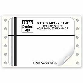 business labels continuous white first class mail With first class mail label