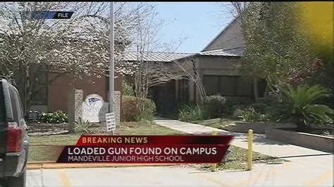 Mandeville Junior High School on lockdown after loaded gun ...