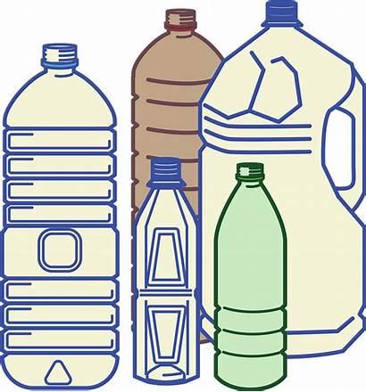 Plastic Clipart Bottles Bottle Transparent Creazilla Cliparts
