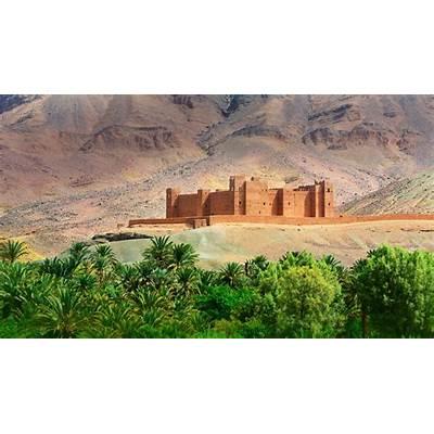 Timiderte Kasbah Draa Valley Morocco (© Mauricio Abreu